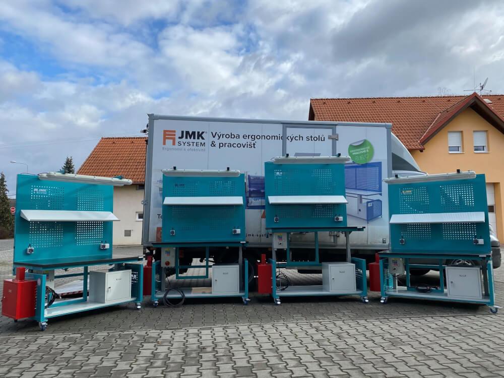 Ergonomické stoly JMK SYSTEM s.r.o.